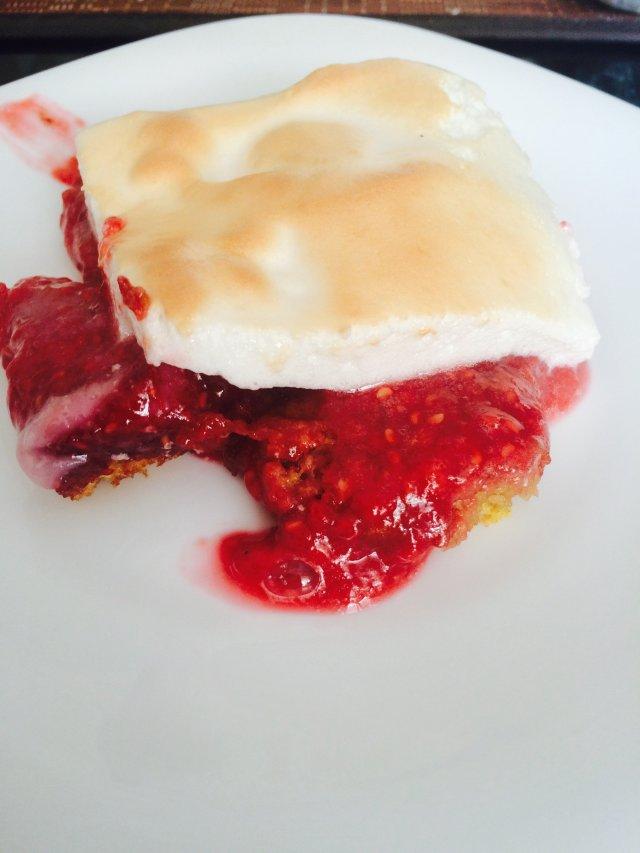 Ягодный пирог с итальянской меренгой 🍥🍥🍥