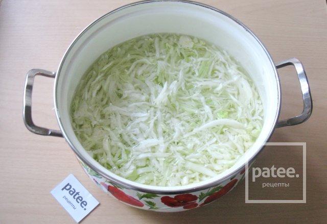 Оладьи из белокочанной капусты