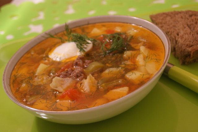 чехословацкий суп рецепт