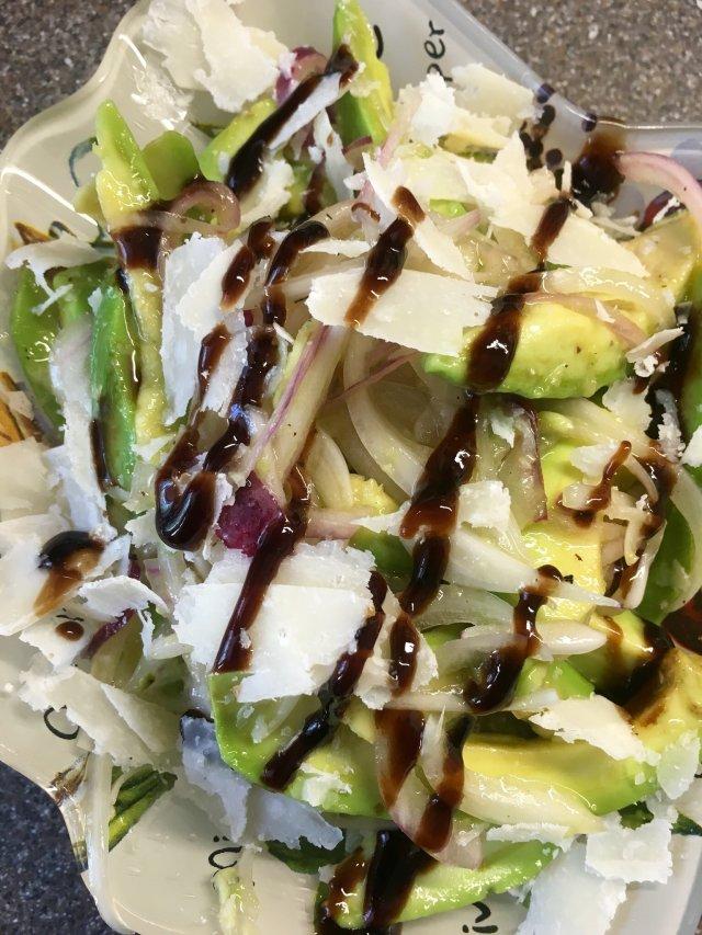 Салат с пармезаном рецепт