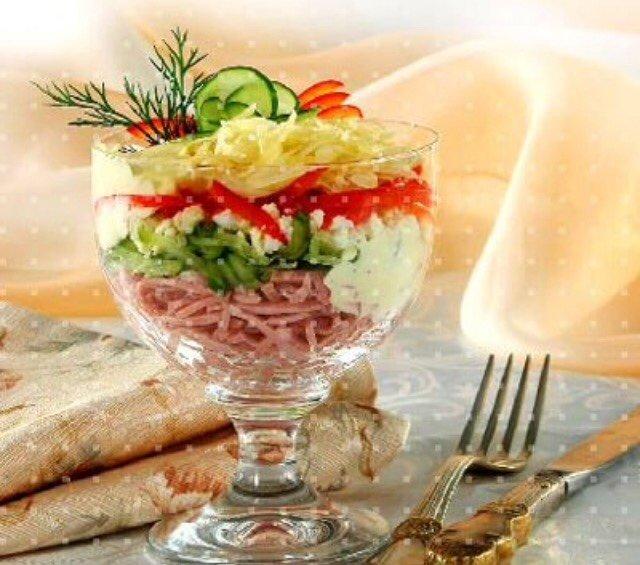 Салаты с морепродуктами коктейль рецепты с фото