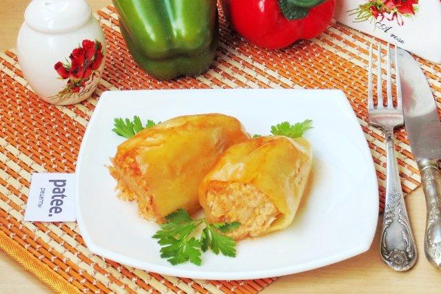 Фаршированные перцы с курицей и карри: оригинальный рецепт рекомендации