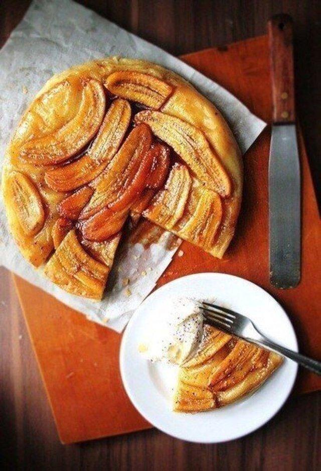 Банановый пирог из слоеного теста - пошаговый рецепт с фото на 73