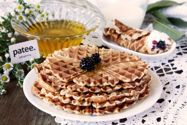 вафли медовые рецепт