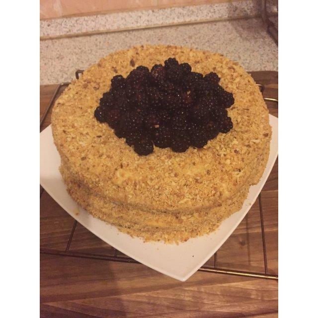Торт наполеона