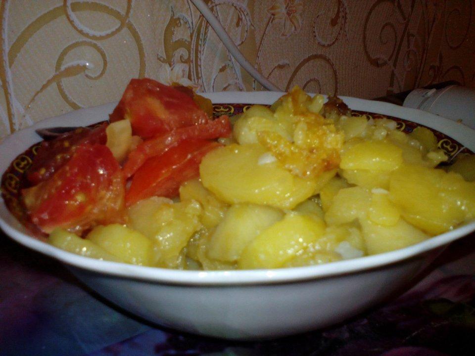 Жареная картошка по-Курски