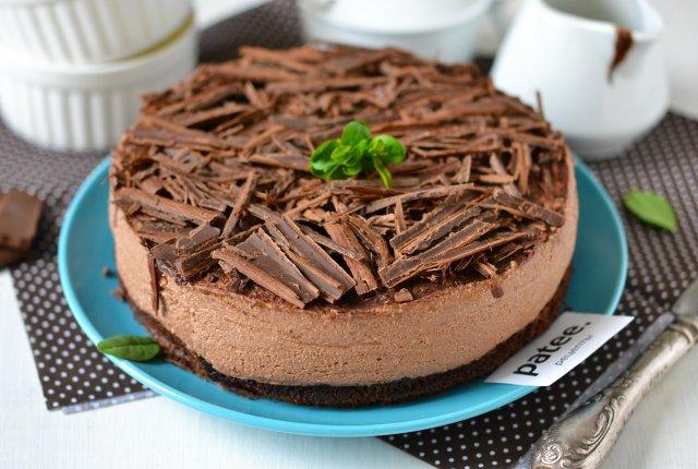 Шоколадный чизкейк пошаговый рецепт с фото