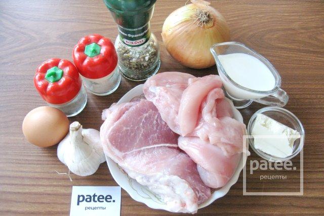 Колбаски из свинины и курицы