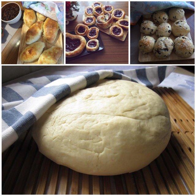Тесто для пирожков которое долго не черствеет