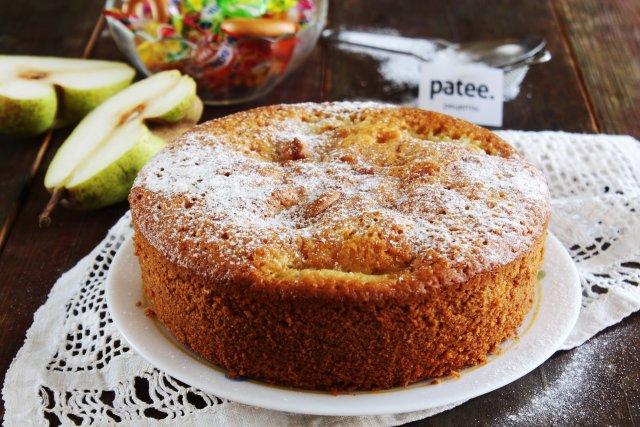 Рецепт пирога из груши — pic 10