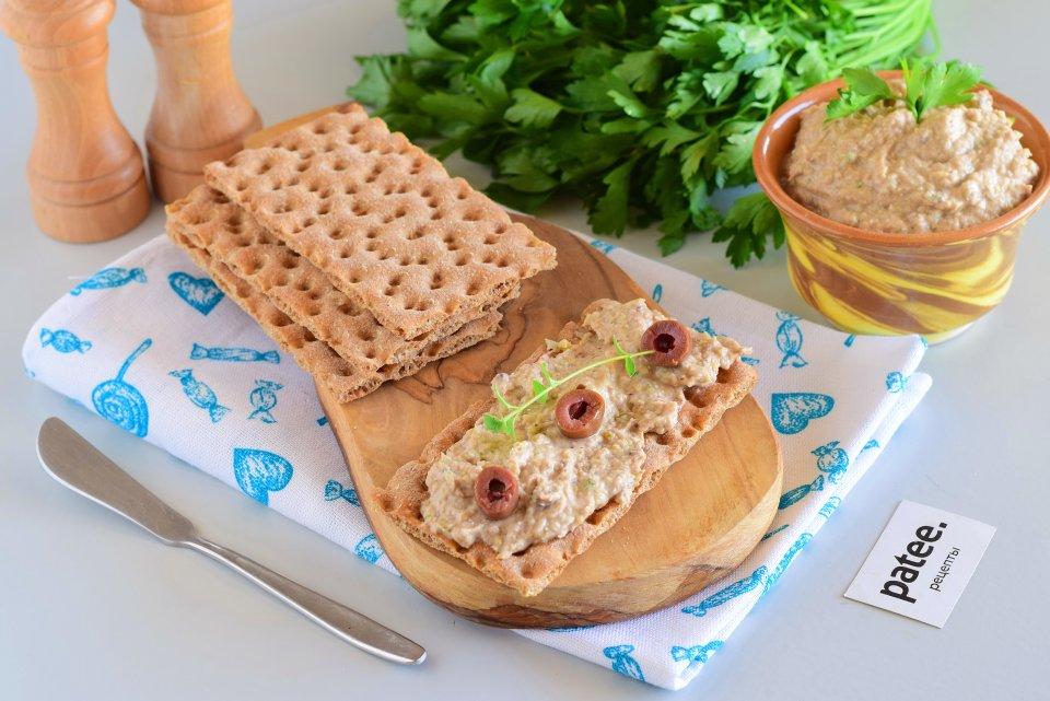 Бутербродный спред с тунцом