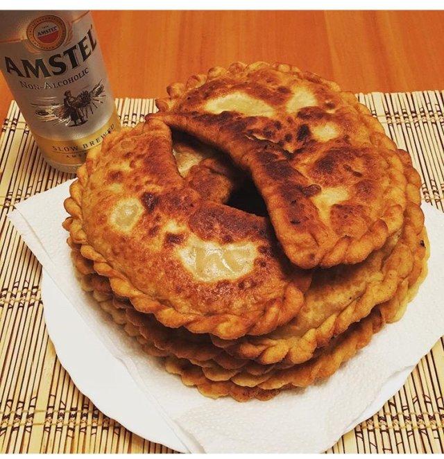 Чебуреки на пиве рецепт с фото