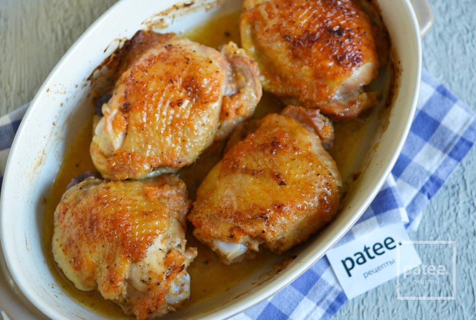 Запеченные куриные бедра в луковом маринаде - Шаг 12