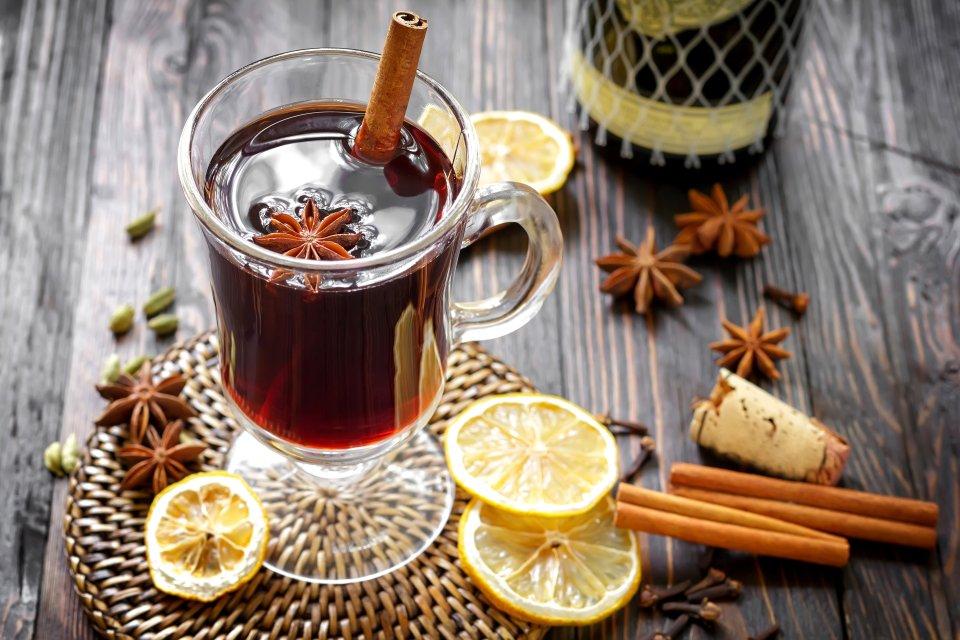 Чай со вкусом глинтвейна за 5 минут