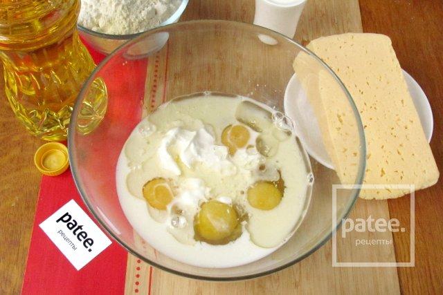 Вафли с сыром