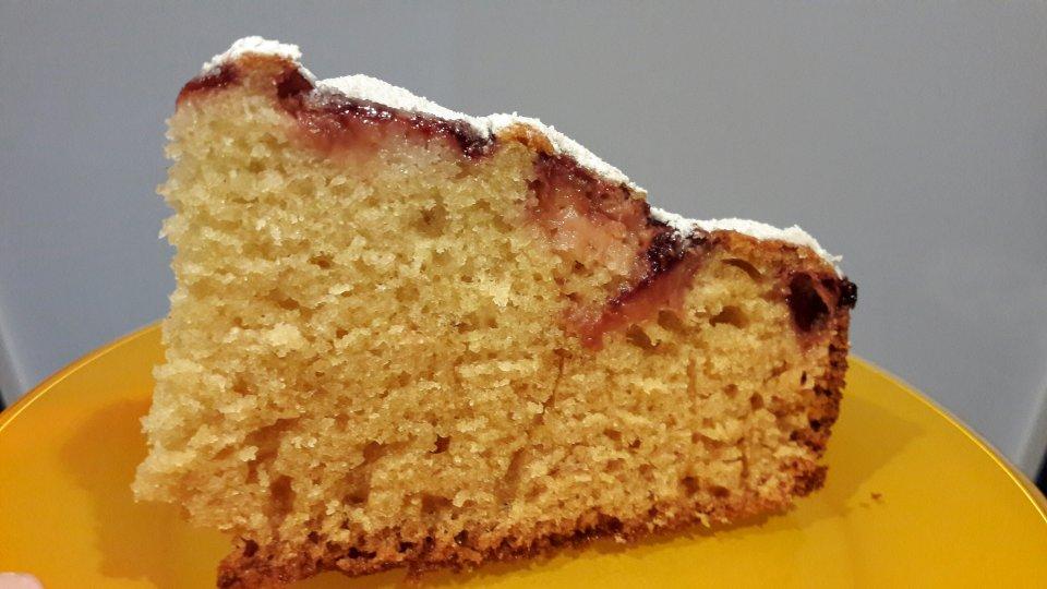 """Клубничный пирог """"Нежность""""."""