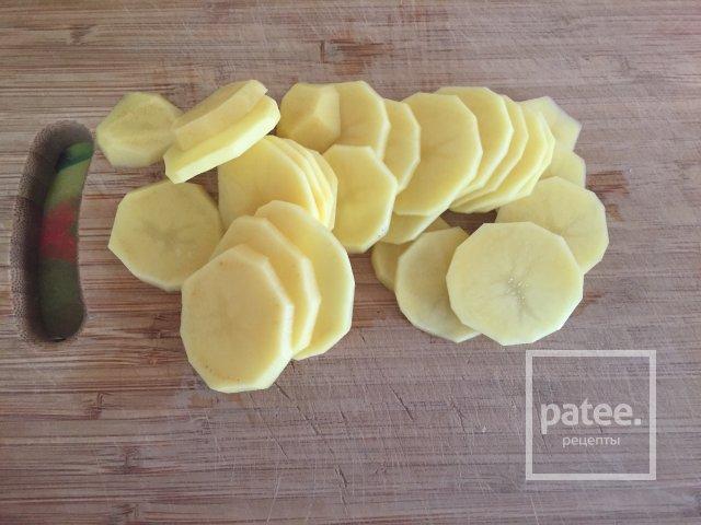 Картофель в сметане