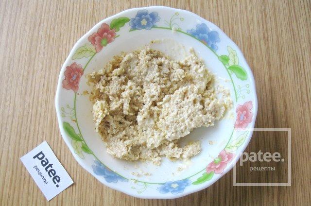Рулетики из баклажанов с сыром и орехами