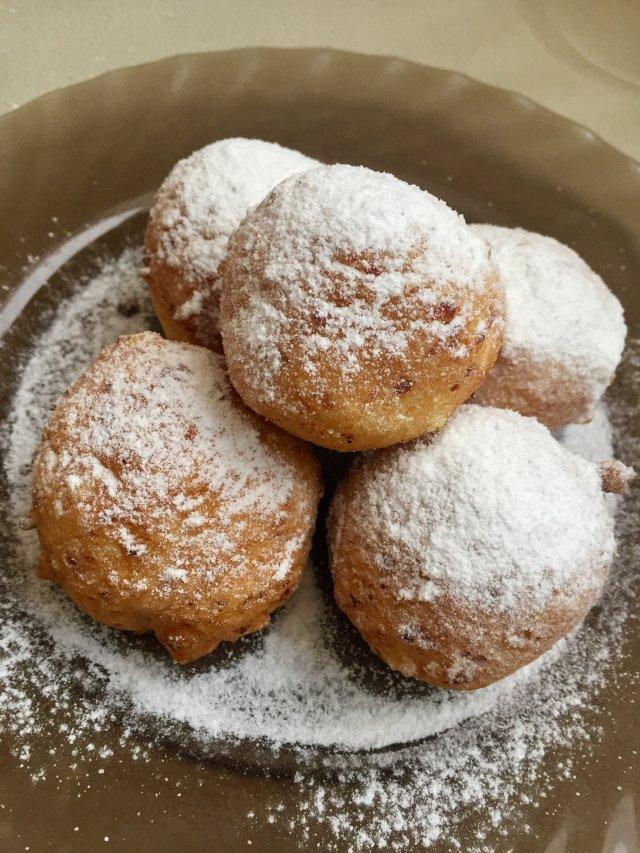Творожные пончики за 15 минут