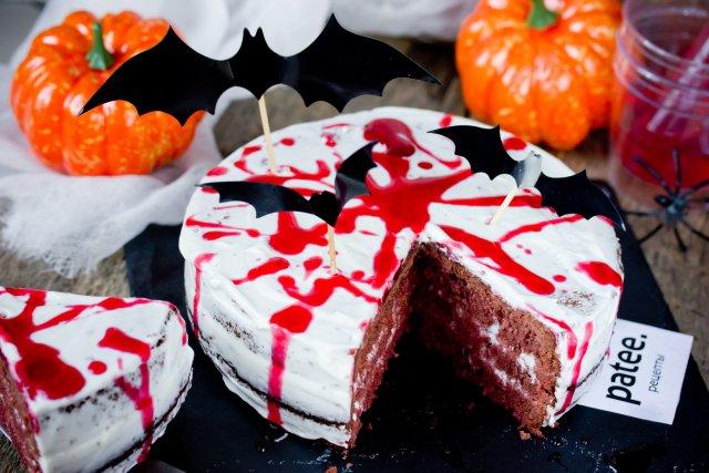 "Торт на Хэллоуин ""Кровавый Ричард"""