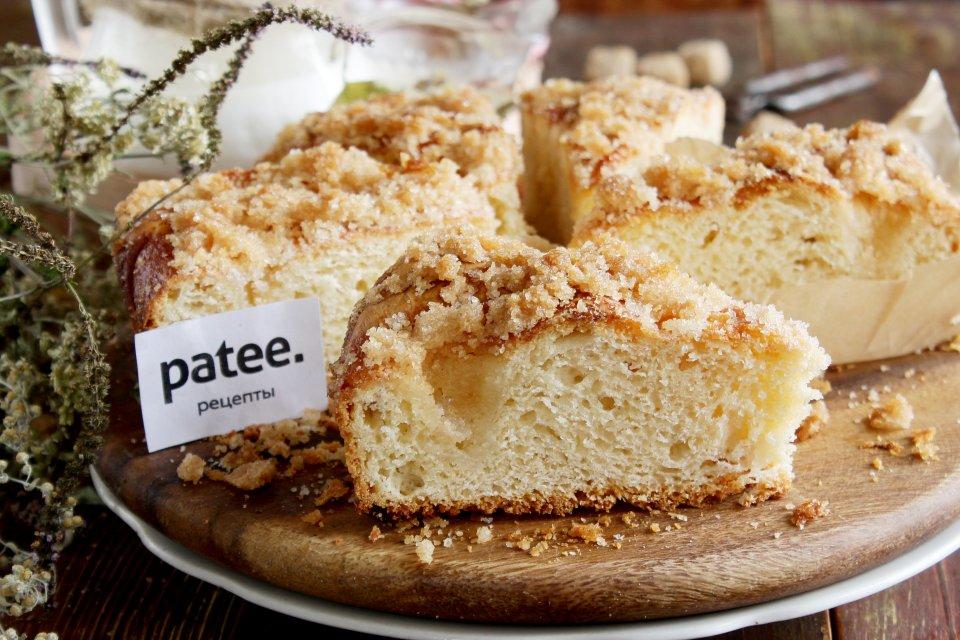 Tarte au sucre — сахарный пирог