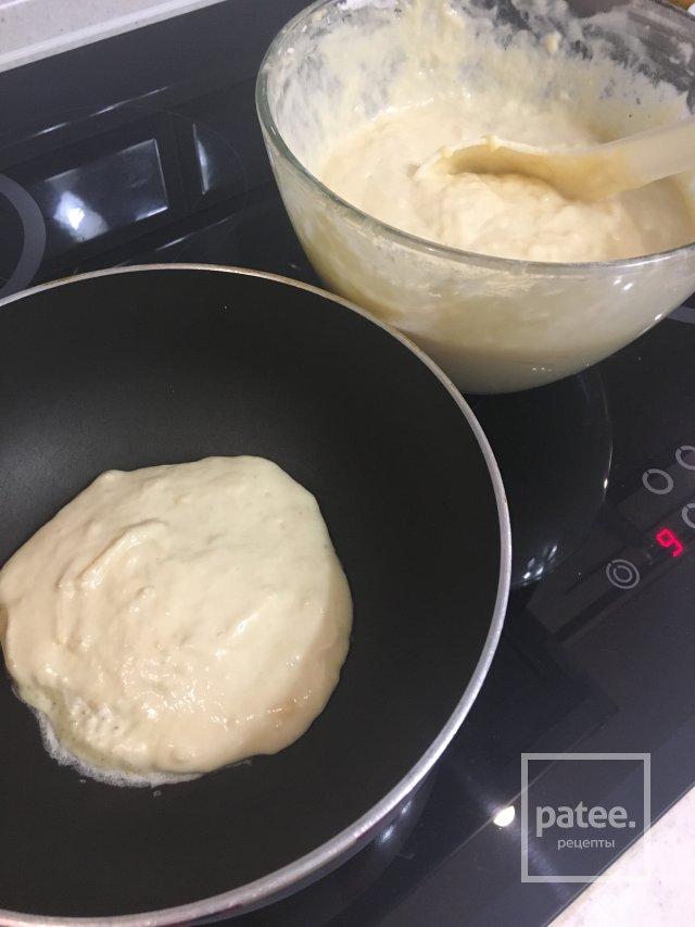 Панкейки с сыром