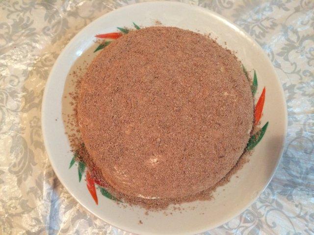торт тёмная ночь с черносливом рецепт с фото