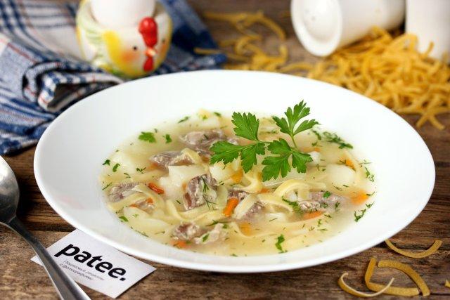 Суп из куриных желудков рецепт пошагово в 73