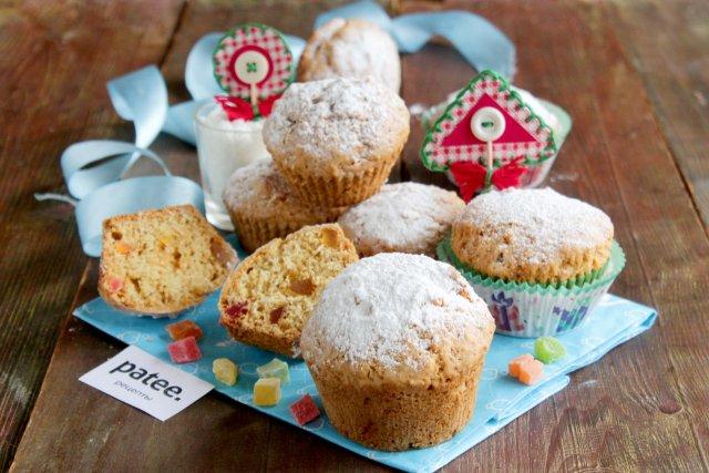 Кексы с кокосовой стружкой рецепт с фото