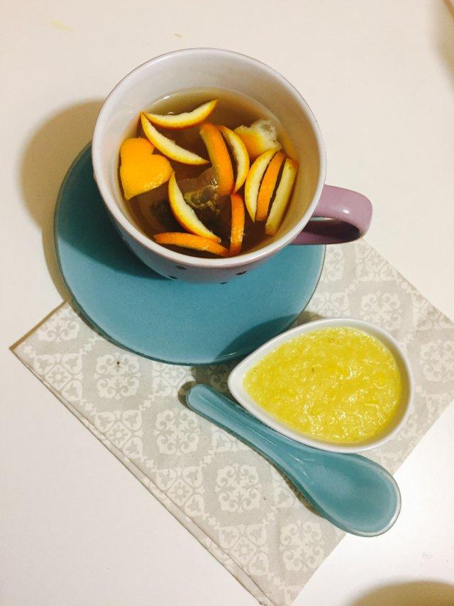ПП Витаминная вкусняшка к чаю  🍋 🍊 🍯