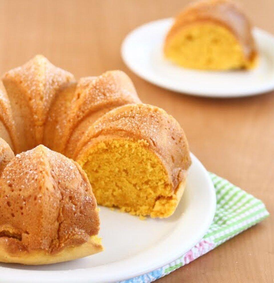 Тыквенный кекс с лимоном