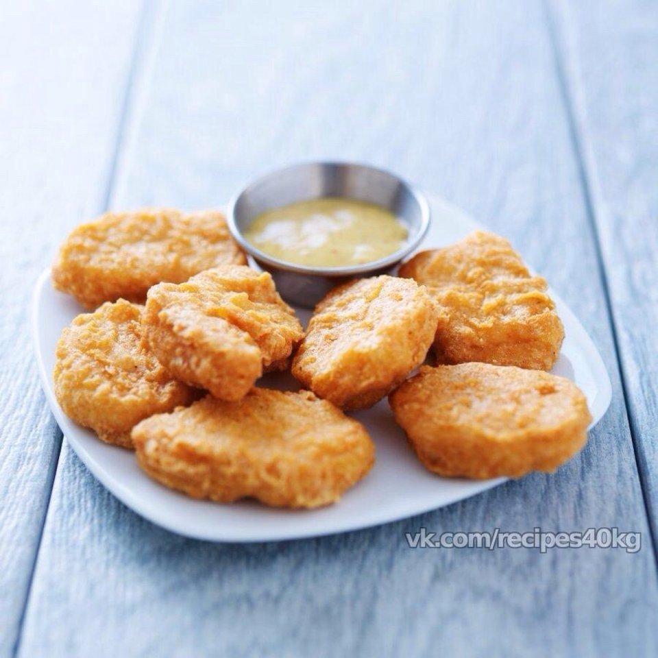 Куриные наггетсы: идеальный белковый перекус!