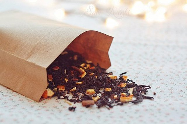 Пряный зимний чай