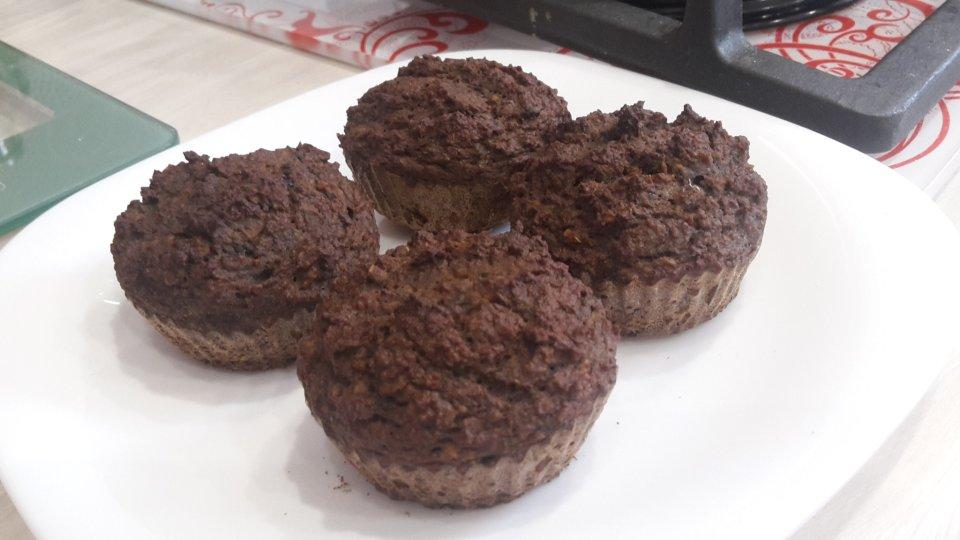 ПП шоколадные кексы из нута! Без муки, сахара и масла!!!!