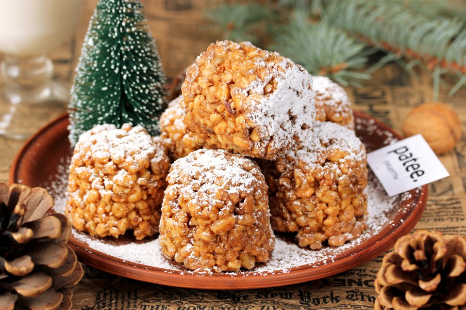 Печенье новогодние шишки фото