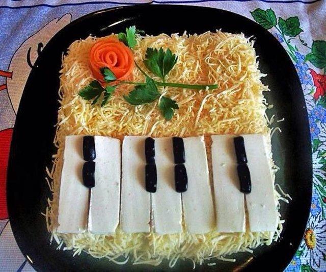 салат рояль рецепт с фото