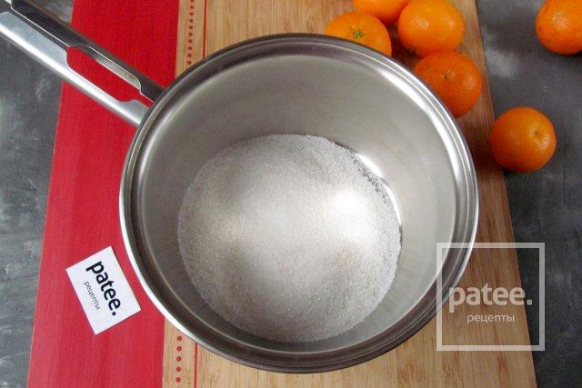 Мандарины в пряном сиропе