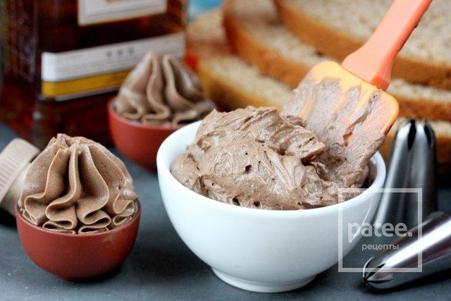 Шоколадный крем с вареной сгущёнкой
