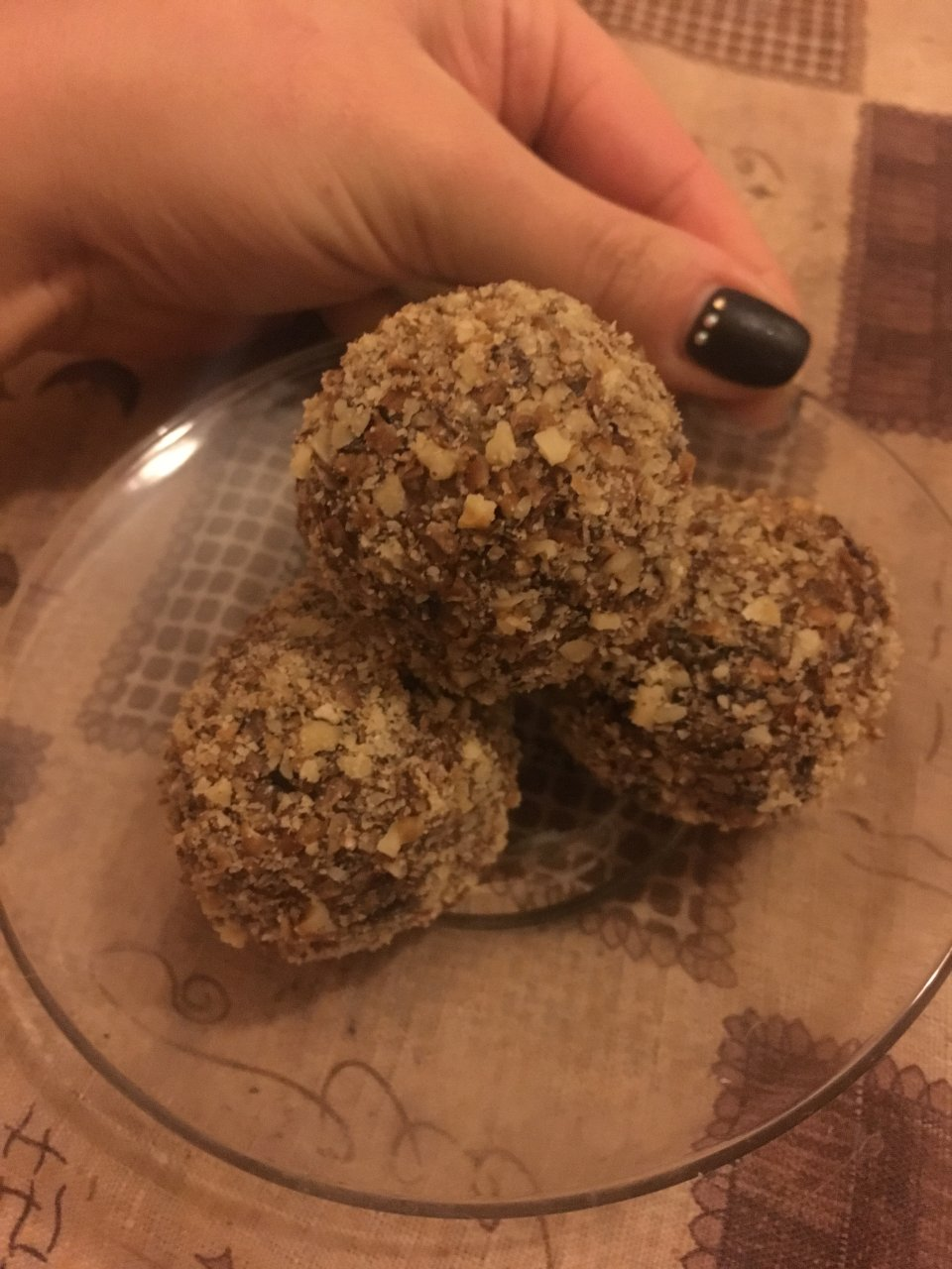 ПП конфеты из сухофруктов