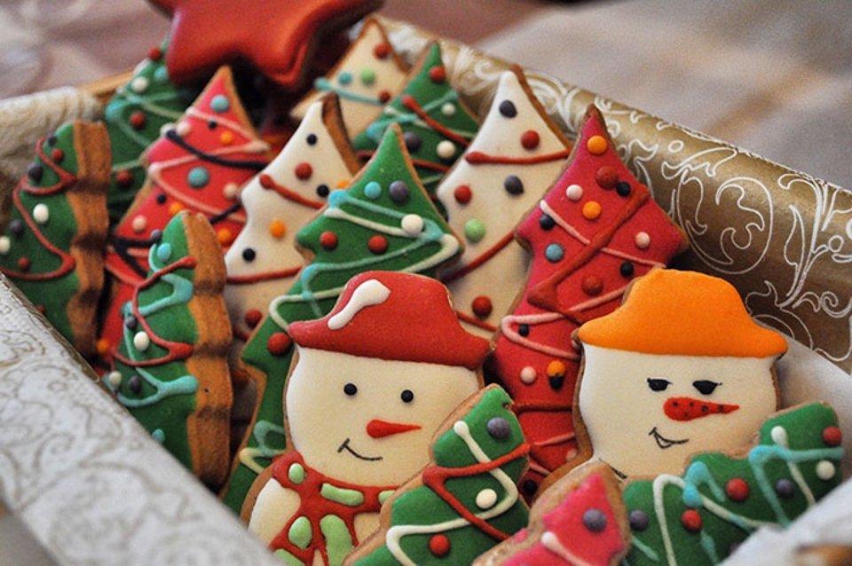 имбирные рождественские пряники