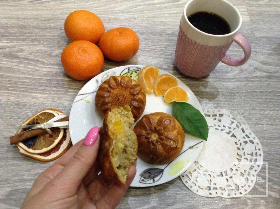 ПП кексы с мандарином и кокосом