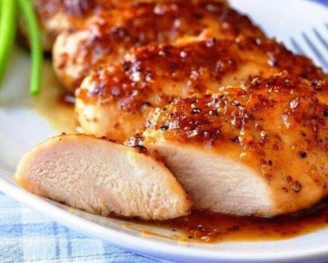 рецепты куриной грудки в медовом соусе