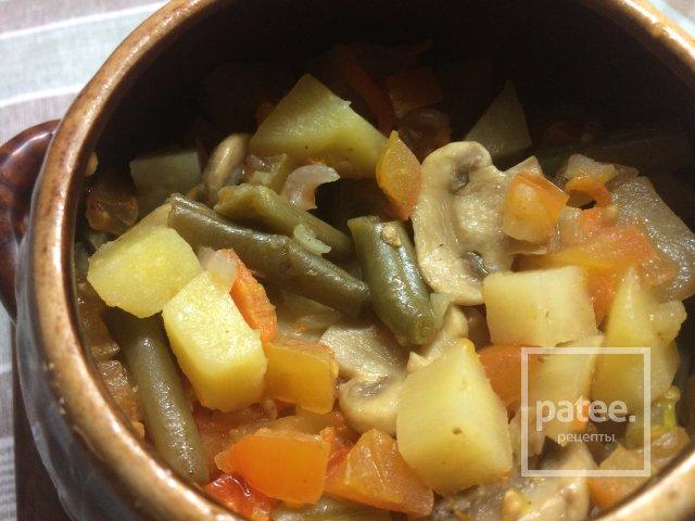 Калорийность овощное рагу без картошки