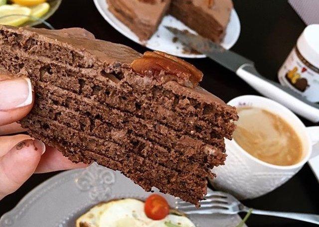 Шоколадный торт🍫
