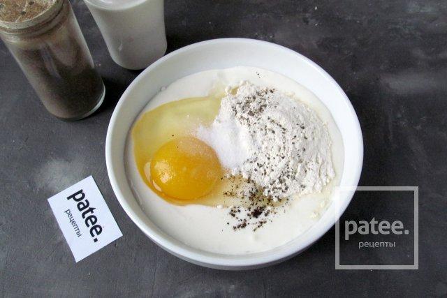 Мясные зразы с сыром в кляре