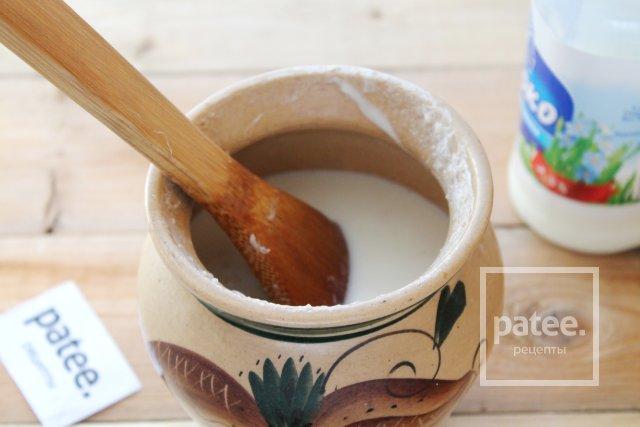 Пшенная каша в горшочке на молоке в микроволновке