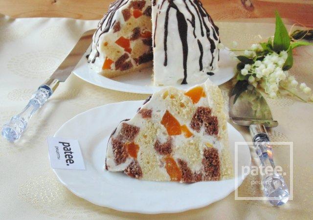 """Торт """"Панчо"""" с персиками"""