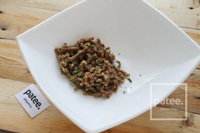 Котлеты из гречки с грибами и зеленью