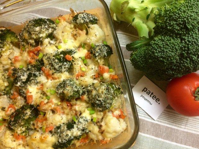 Овощи в сливочном соусе рецепт