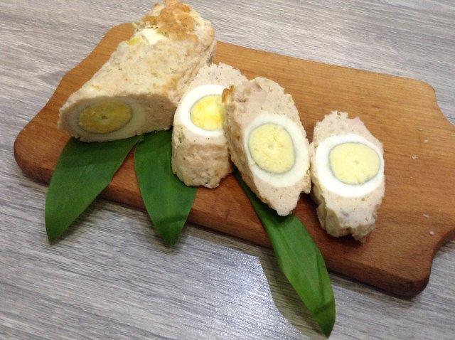 ПП рулет с яйцом